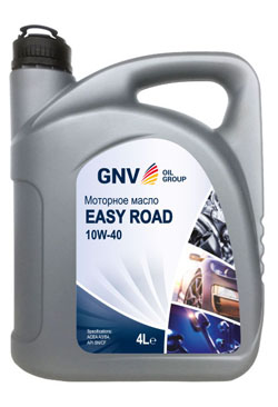 Моторное масло GNV Easy Road 10W-40 SN/CF (4л)