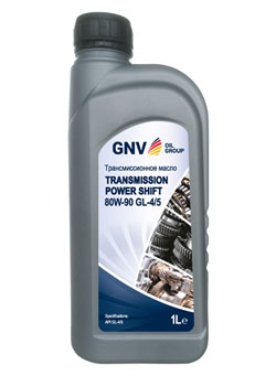 Масло для МКПП GNV Transmission Power Shift 80W-90 GL-4/5 (1л)
