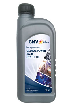 Моторное масло GNV Global Power 5W-40 Synthetic A3/B4 (1л)
