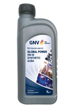 Моторное масло GNV Global Power 5W-30 Synthetic A3/B4 (1л)