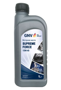 Моторное масло GNV Supreme Force 15W-40 CF-4/SG (1л)